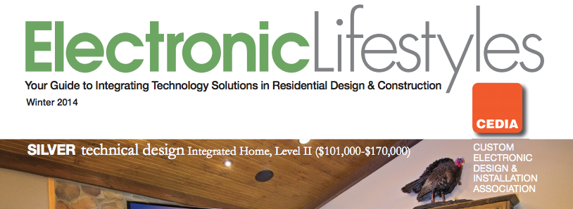 Case Study: Integration Controls Wins 2013 Best Integrated Home Award